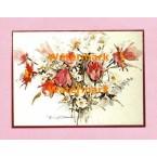 Spring Bouquet  - #XBPP644  -  PRINT