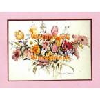 Spring Bouquet  - #XBPP645  -  PRINT