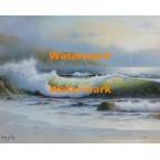 Ocean Waves  - #XS4020  -  PRINT