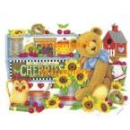 Sweet Cherry Teddy - #XM9505  -  PRINT