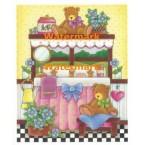 Powder Room Bears II  - #XM9511  -  PRINT