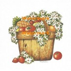 Garden Harvest  - #XS1816  -  PRINT