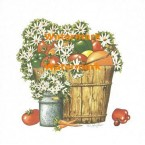 Garden Harvest  - #XS1819  -  PRINT