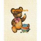 Noah's Ark & Teddy  - #XS10151  -  PRINT