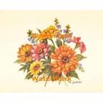 Flower Bouquet  - #XS5739  -  PRINT