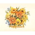 Flower Bouquet  - #XS5743  -  PRINT