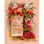 Old-Fashioned Cherry Duff  - #XS6147  -  PRINT