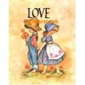 Love  - #XS8368  -  PRINT