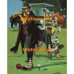 Clown's Tee Off Spot  - #XS14280  -  PRINT