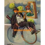 Tennis Anyone  - #XS14281  -  PRINT