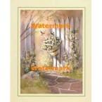 Garden Gate  - #XS8642  -  PRINT