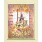 Garden Window  - #XS8644  -  PRINT