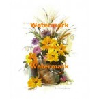 Flowers  - #XS3532  -  PRINT