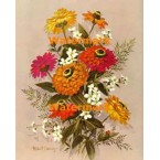 Flower Bouquet  - #XS118  -  PRINT