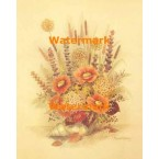 Seashell Flower Arrangement  - #XS2810  -  PRINT
