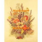Honeycomb Flower Arrangement  - #XS2811  -  PRINT