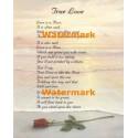1.  True Love  - #XS12981  -  PRINT
