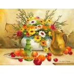 Still Life With Pitcher  - #XS4944  -  PRINT