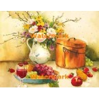Still Life With Grapes  - #XS4945  -  PRINT