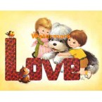 Love  - #XS5271  -  PRINT