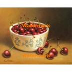 Bowl of Cherries  - #XS6154  -  PRINT