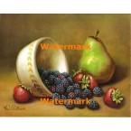 Bowl of Berries  - #XS6156  -  PRINT