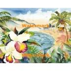 Tropical Cabin  - #XS16050  -  PRINT