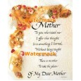 Mother  - #XS16156  -  PRINT