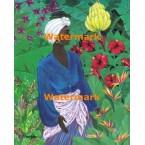 Tropical Flowers & Fruits  -  #XS16249  -  PRINT