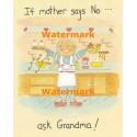 Grandma  - #XS13751  -  PRINT