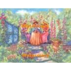 Garden Party  - #XS17397  -  PRINT