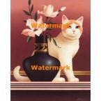 1.  Cat  - #XS13509  -  PRINT