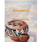 Southwest Pottery  - #XS10899  -  PRINT