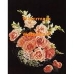 Victorian Florals  - #XS14419  -  PRINT