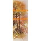 Trees & Flowers  - #XS11956  -  PRINT