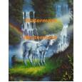 Unicorn in Paradise  - XS15142  -  PRINT