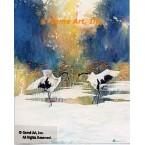 Cranes  - #LOR706  -  PRINT