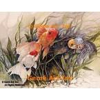Goldfish  - #LOR708  -  PRINT