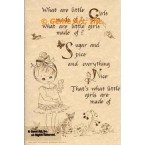 What Are Little Girls Made Of  - #ORSS11  -  PRINT