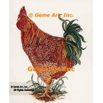 Proud Rooster  - #COR7  -  PRINT