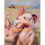 Pigs In Love  - ZOR304  -  PRINT
