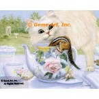 Teapot Surprise  - ZOR348  -  PRINT