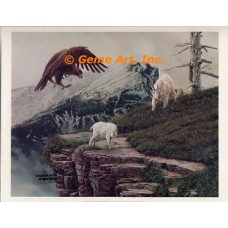 Eagle & Mountain Goats  - FOR2  -  PRINT