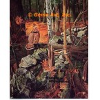 Grouse In Deep Woods  - #MOR613  -  PRINT