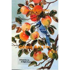 Bluejay & Apples  - #MQ628-9  -  Set of 6 Prints 8x12""