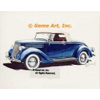1936 Ford Deluxe Roadster  - #GOR15  -  PRINT