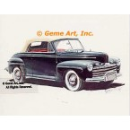 1946 Ford Super Deluxe Convertible  - #GOR16  -  PRINT