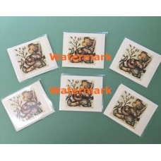 6 Pack Hummel Note Cards  - HNC6752  -  Note Cards with Envelope