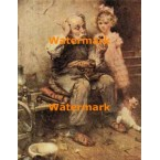 The Shoemaker  - #DNR50834  -  PRINT