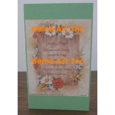 Serenity Prayer Note Card  - #CardXS7706  -  NOTE CARD